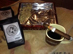 Winston's Humidor maduro coffee