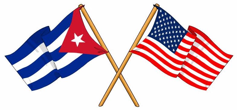 Flags - cuba america